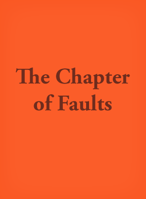 the chapter of faults